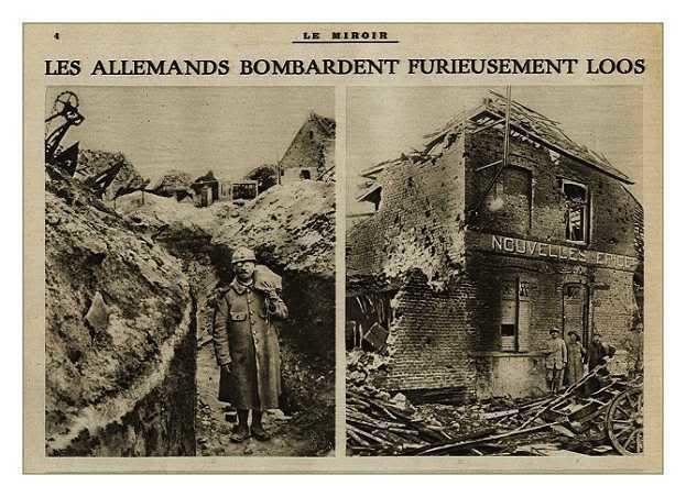 Centenaire 14-18 - 9 mai 1915 - Deuxième blessure de mon grand père.