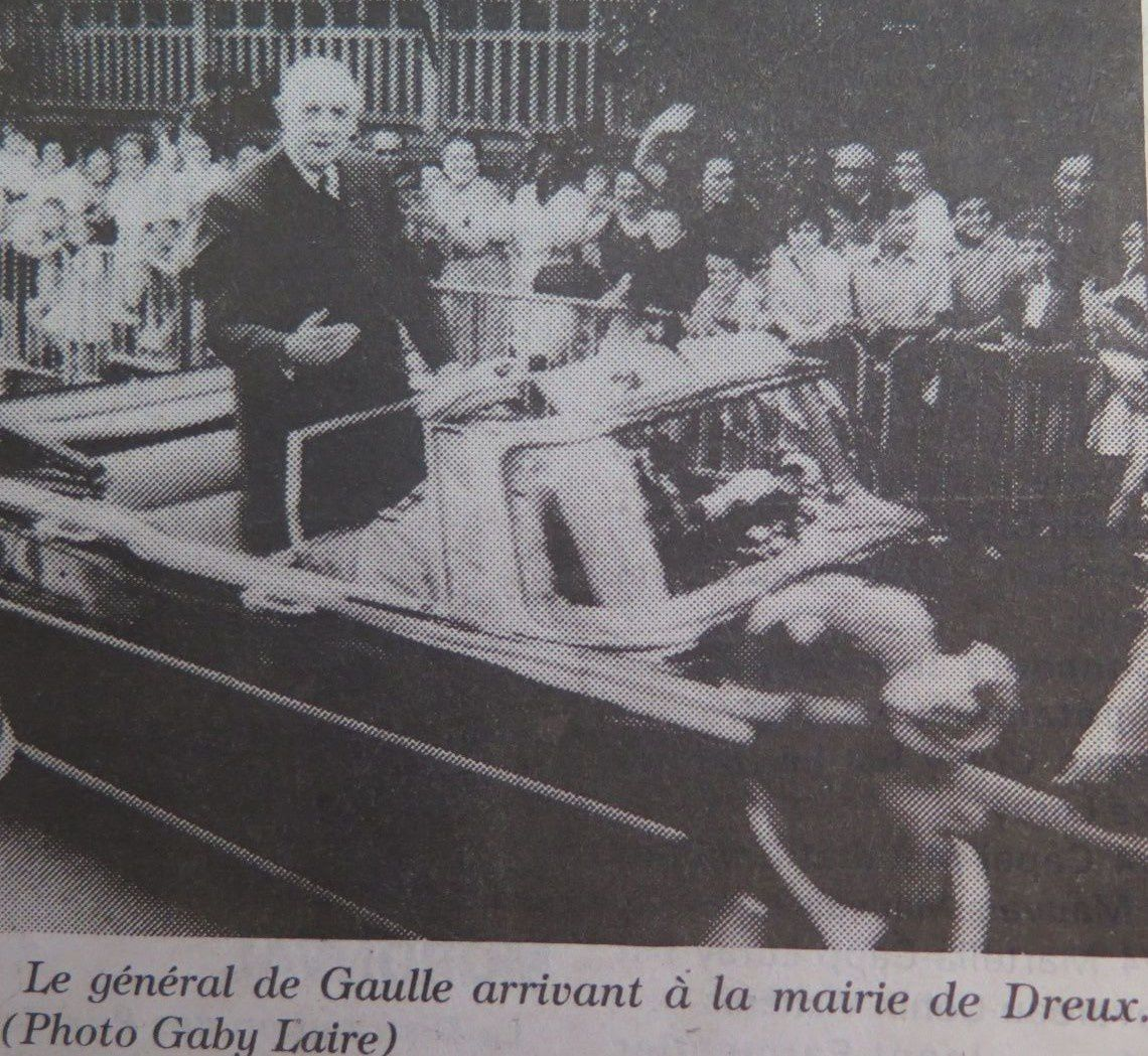 IL Y A 50 ANS, LE GRAND CHARLES A DREUX -2- Anecdotes.