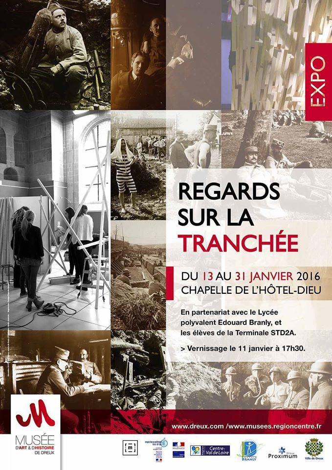 Centenaire 14-18-REGARDS SUR LA TRANCHEE