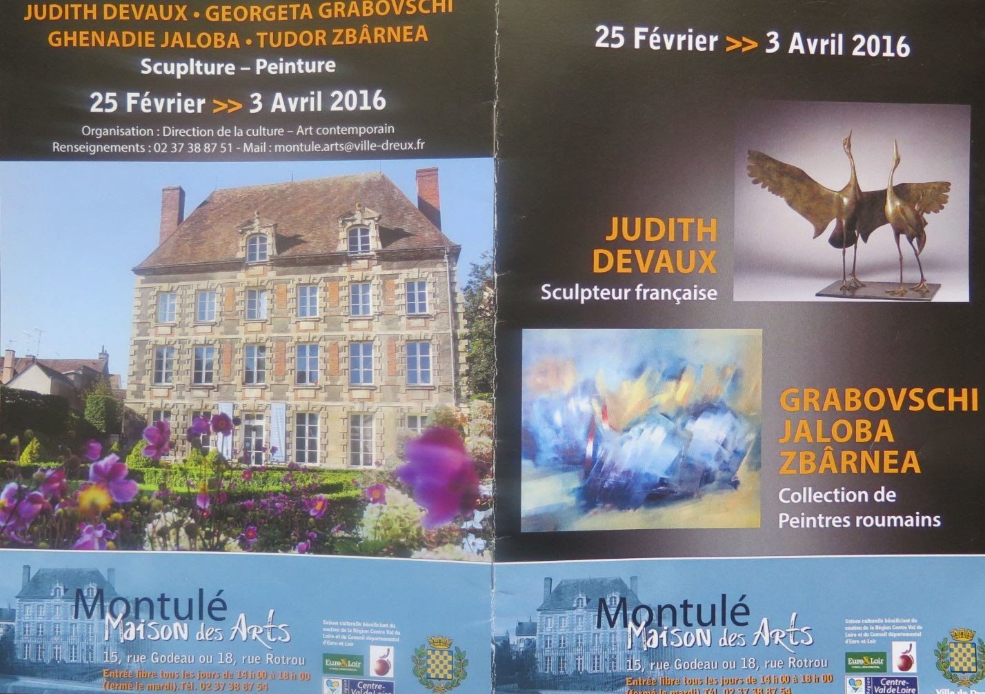 EXPOSITION A MONTULE - Invitations.