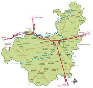 Journal, blog et radio -3- Géographie de Dreux.