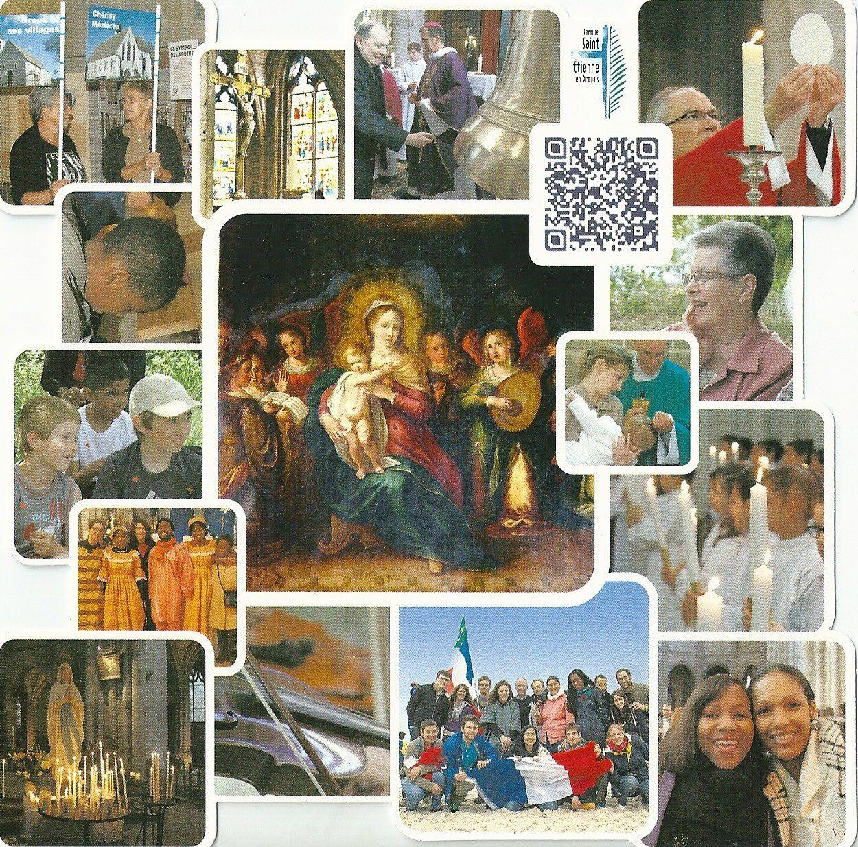 La paroisse St-Etienne-en-Drouais vous souhaite un Joyeux Noël. Paix et espérance pour vous et votre famille tout au long de l'année 2014
