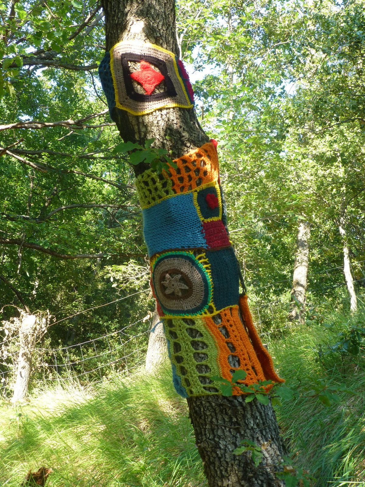 Yarn Bombing d'été