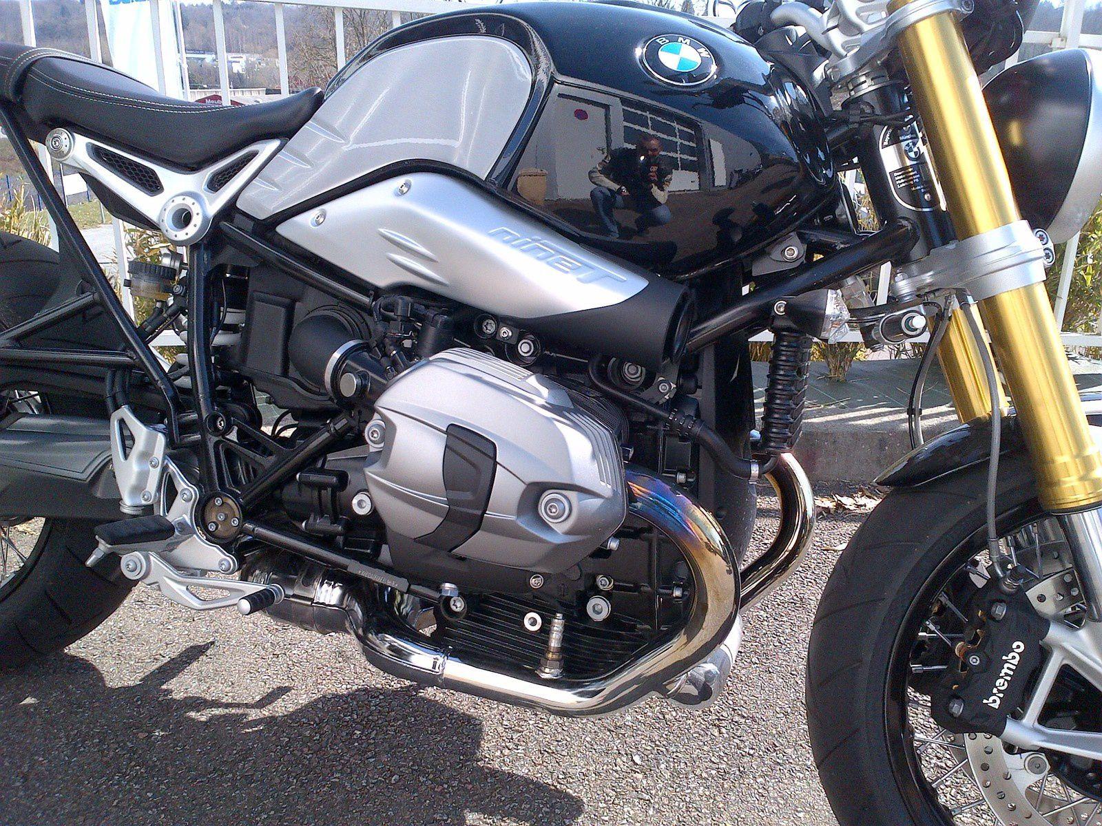 Essai BMW 1200 Nine T