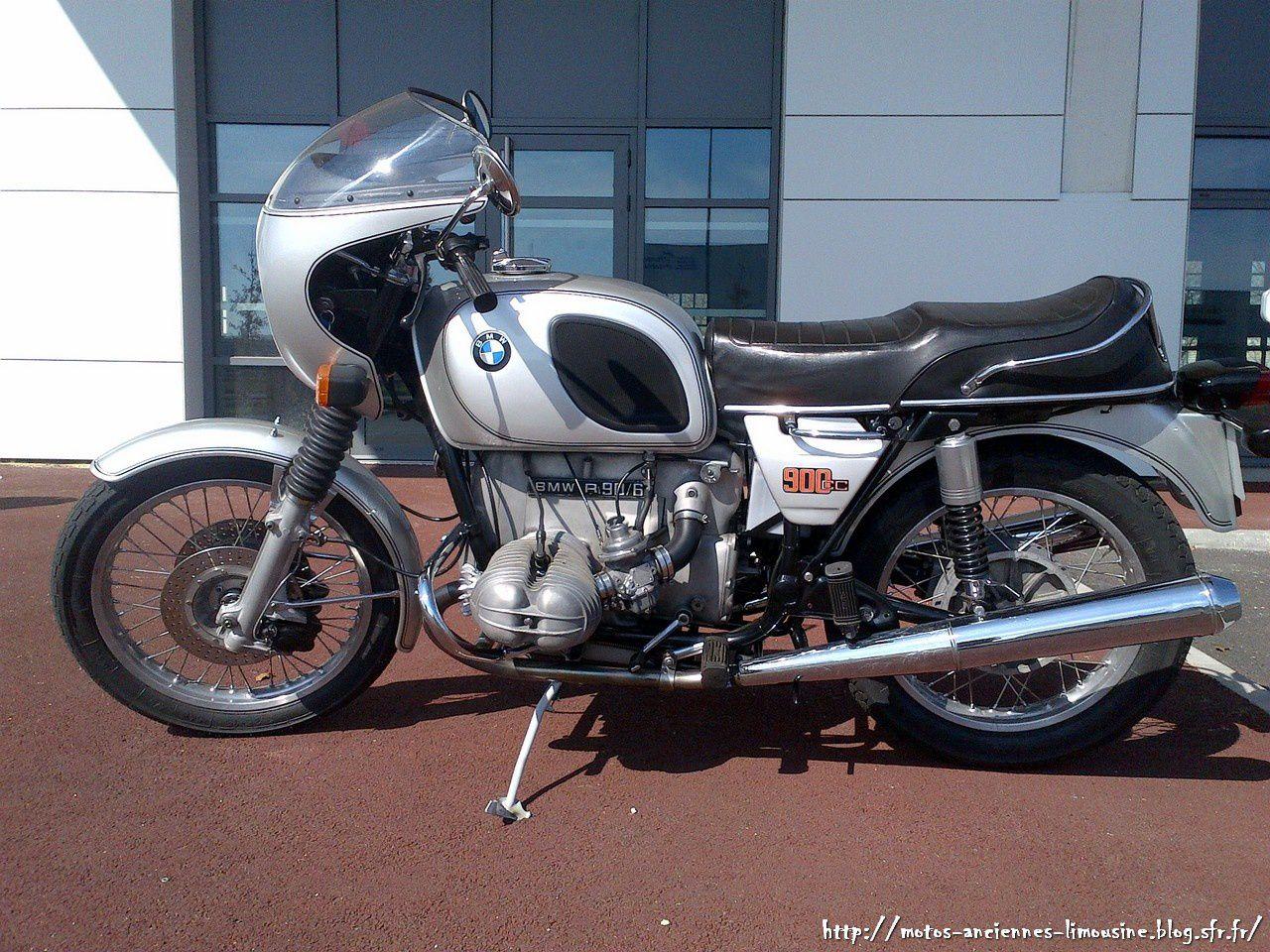 Restauration d'une BMW R90/6 de 1974