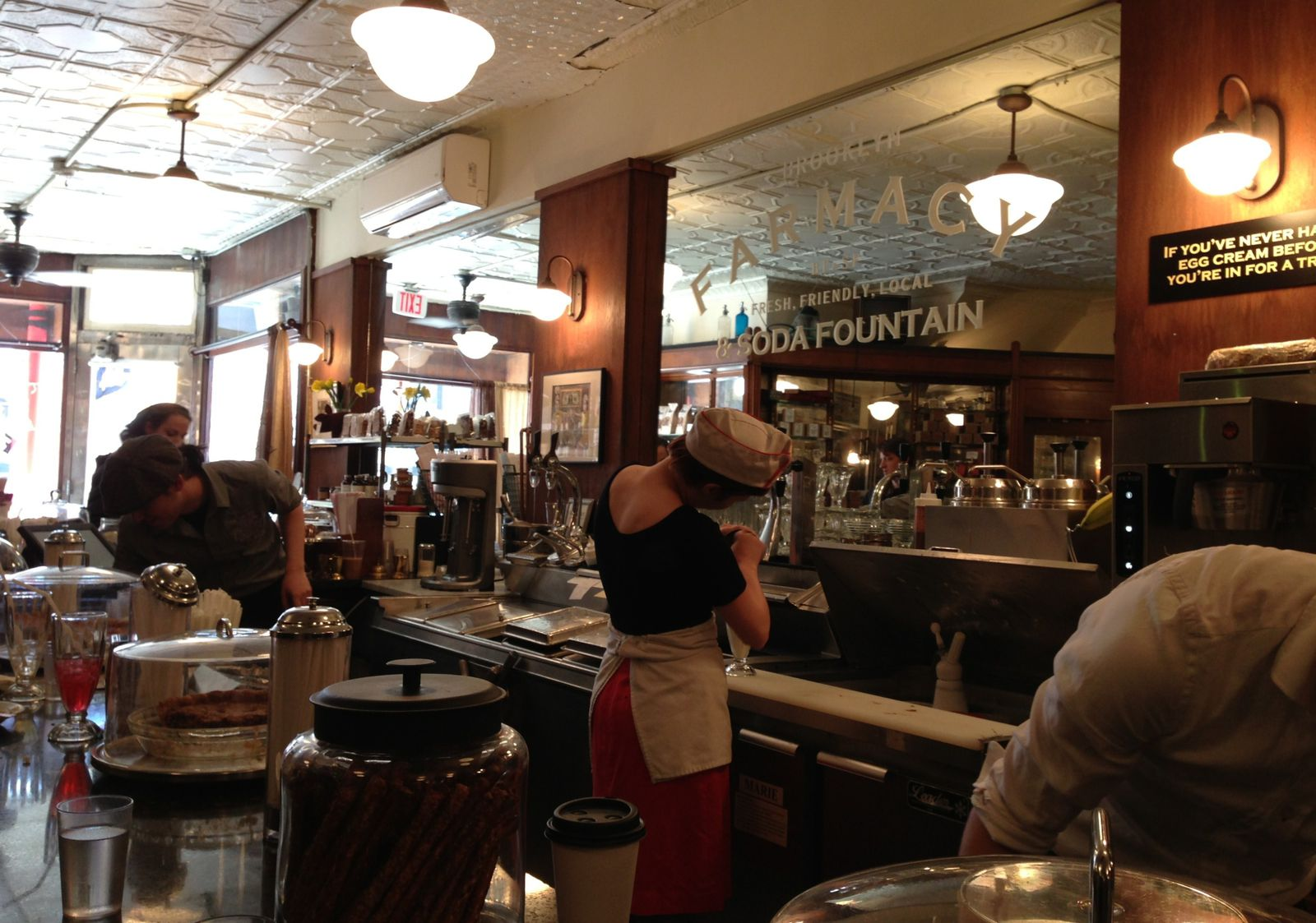 Brooklyn Farmacy &amp&#x3B; soda fountain, NYC