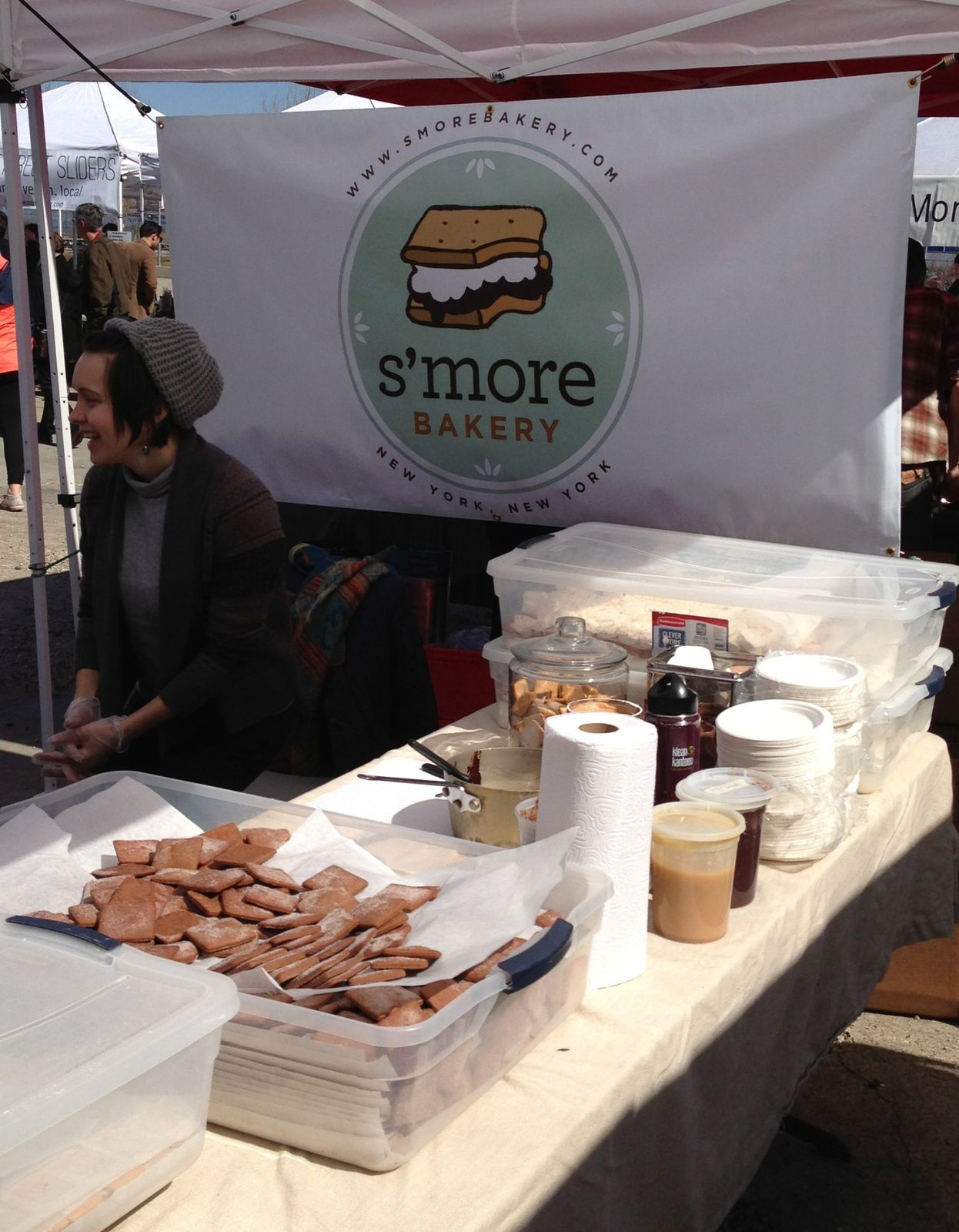 Smorgasburg, brooklyn street food à NYC
