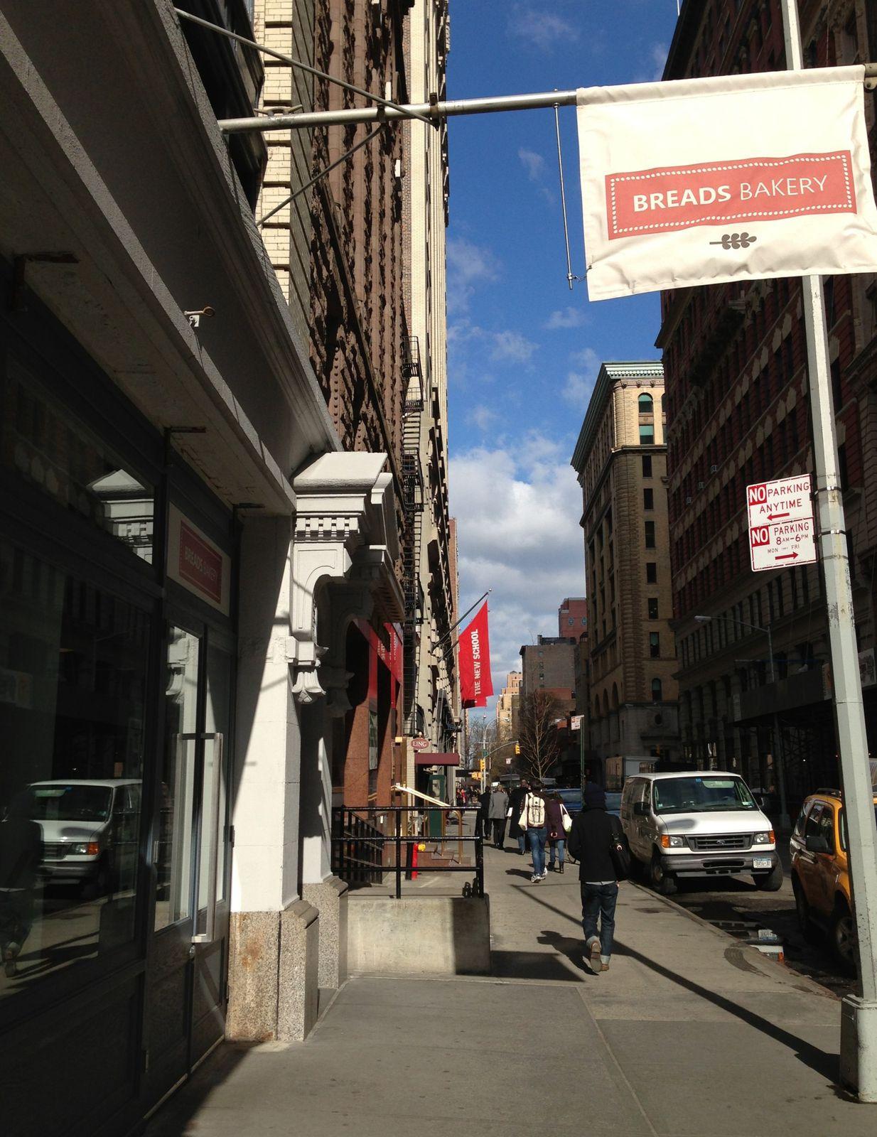 Breads bakery à NewYork