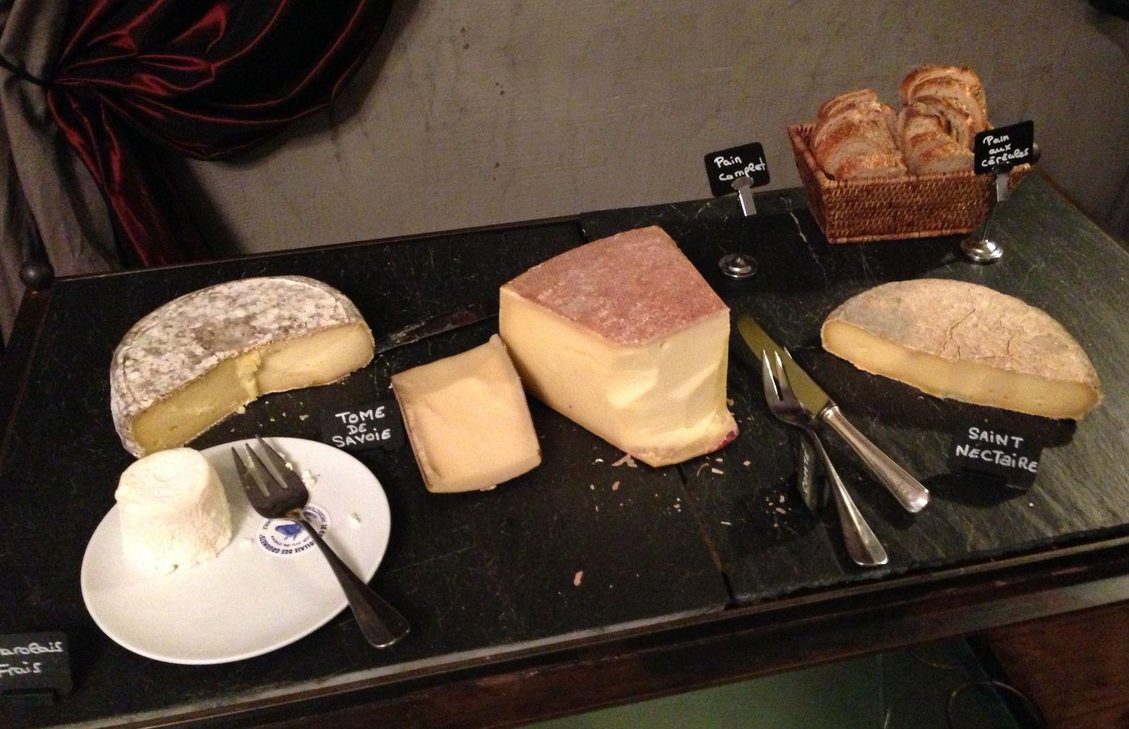 Petit-déjeuner à La Cour des Loges, Lyon