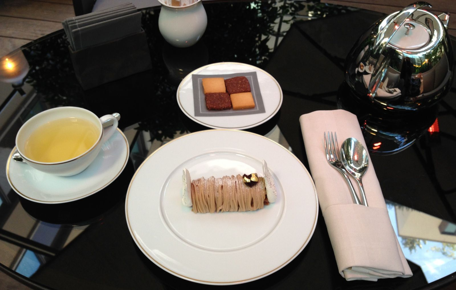 Tea Time au Mandarin Oriental, Paris