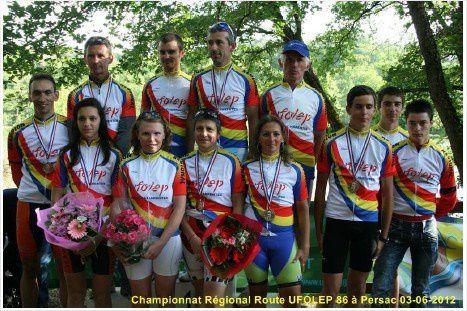 les champions régionaux 2012
