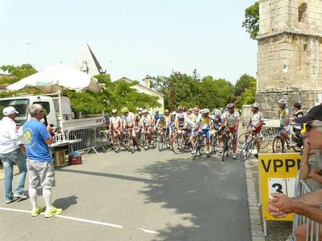 Belle organisation du VPP Nontron à Champagnac de Belair