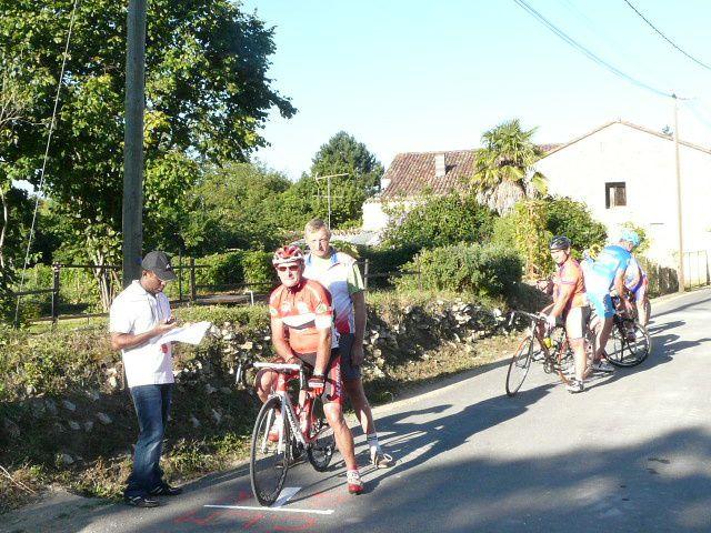 Cyclosport La Chapelle, résultats du CLM