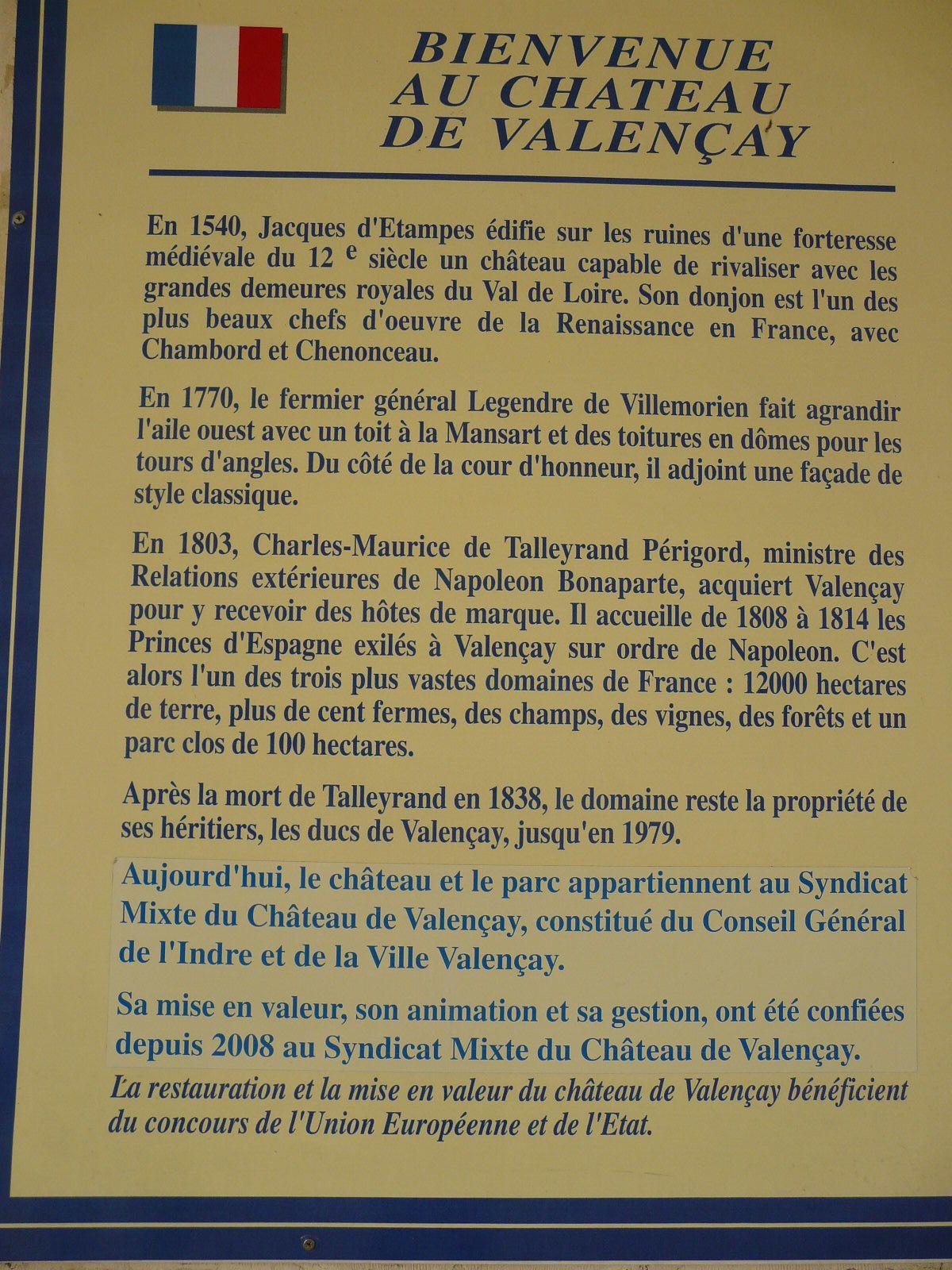 Didier aux Foulées du Château de Valençay