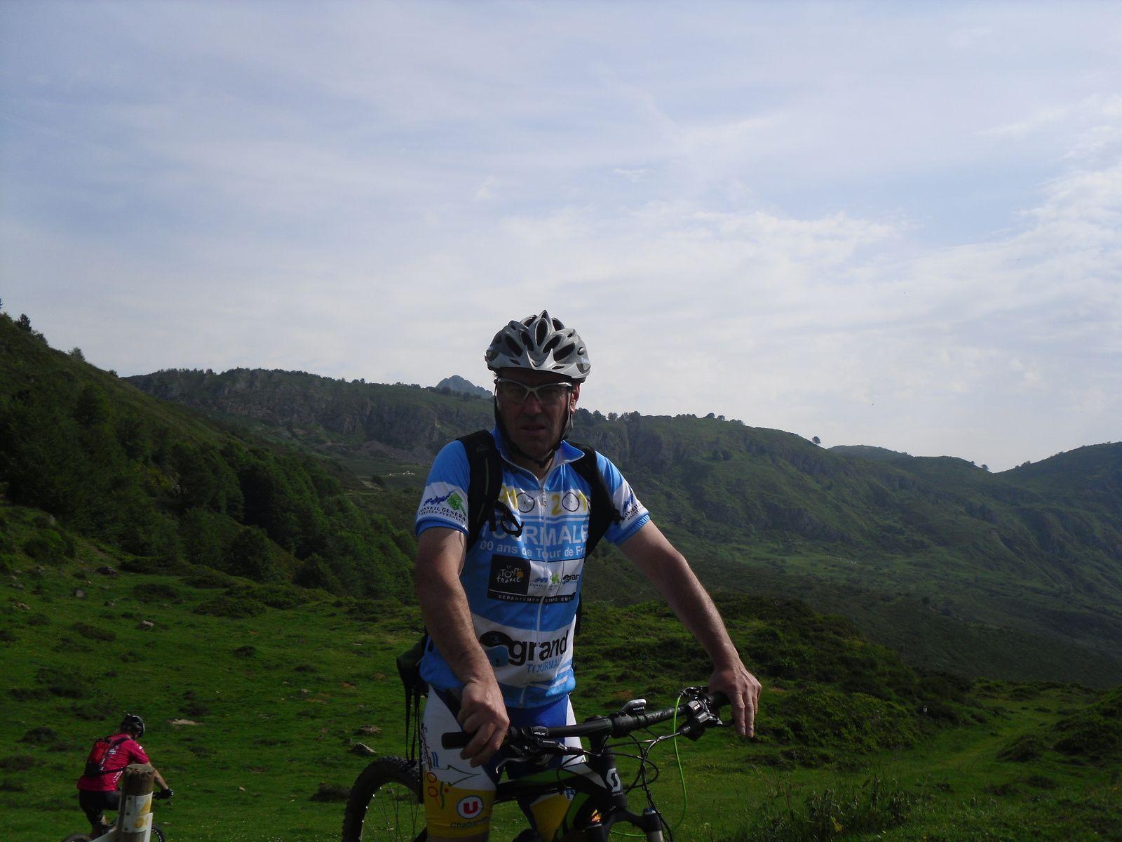 Jan-Yann s'oxygène dans les Pyrénées