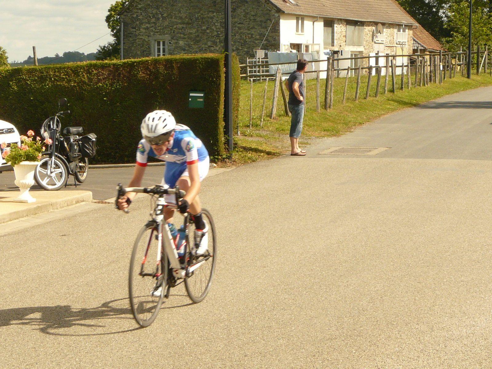 Cyclosport Concèze, le CC Exideuil à la 3e place