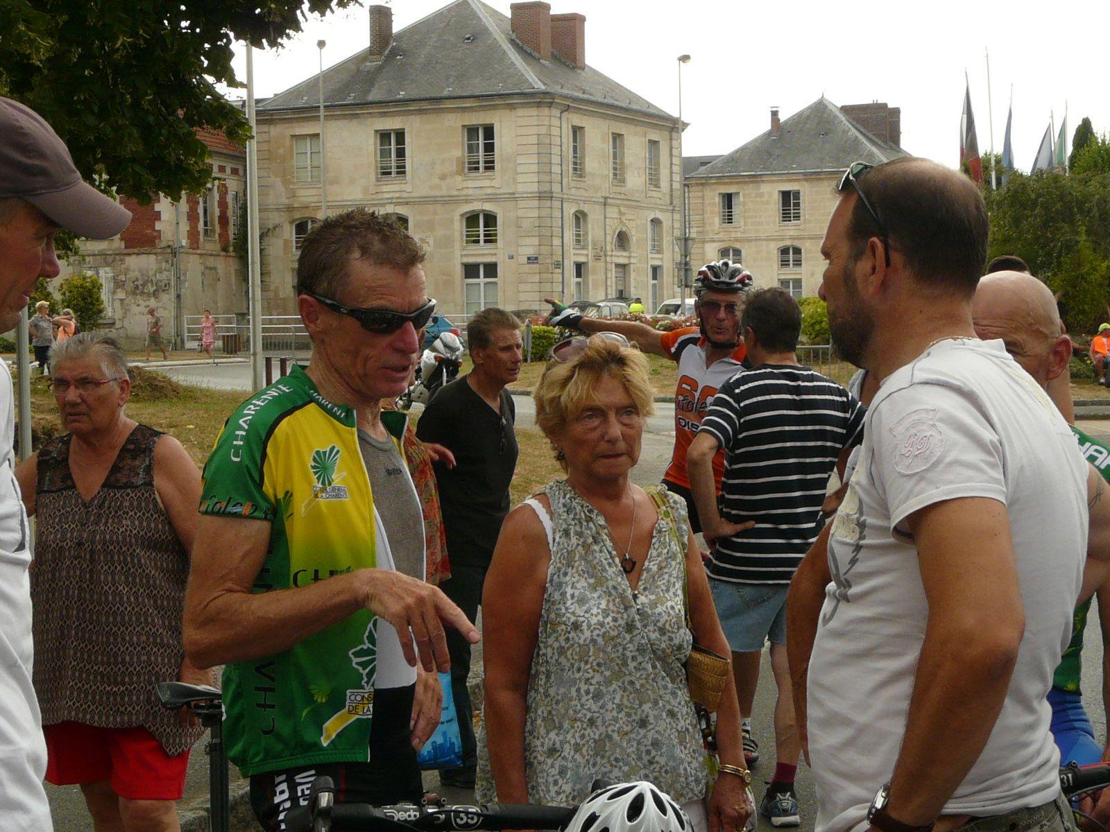 Les charentais 60 et plus 5e au National UFOLEP à Liancourt