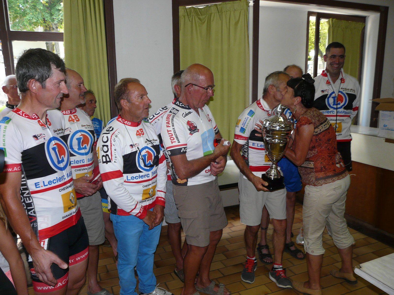 10e podium pour Dédé à Villebois-Lavalette