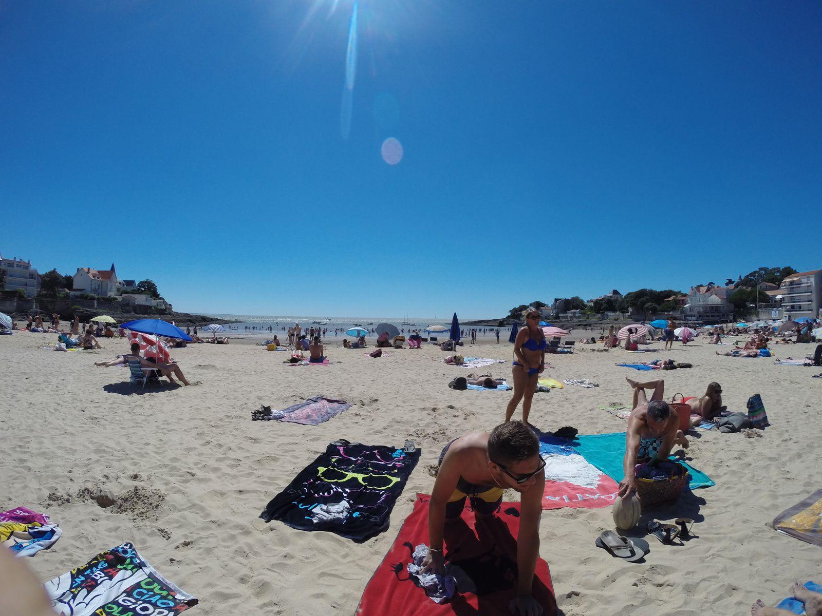 Et pour terminer la plage