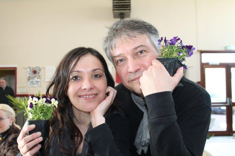 Edith (et Franck) le lendemain, au sec...