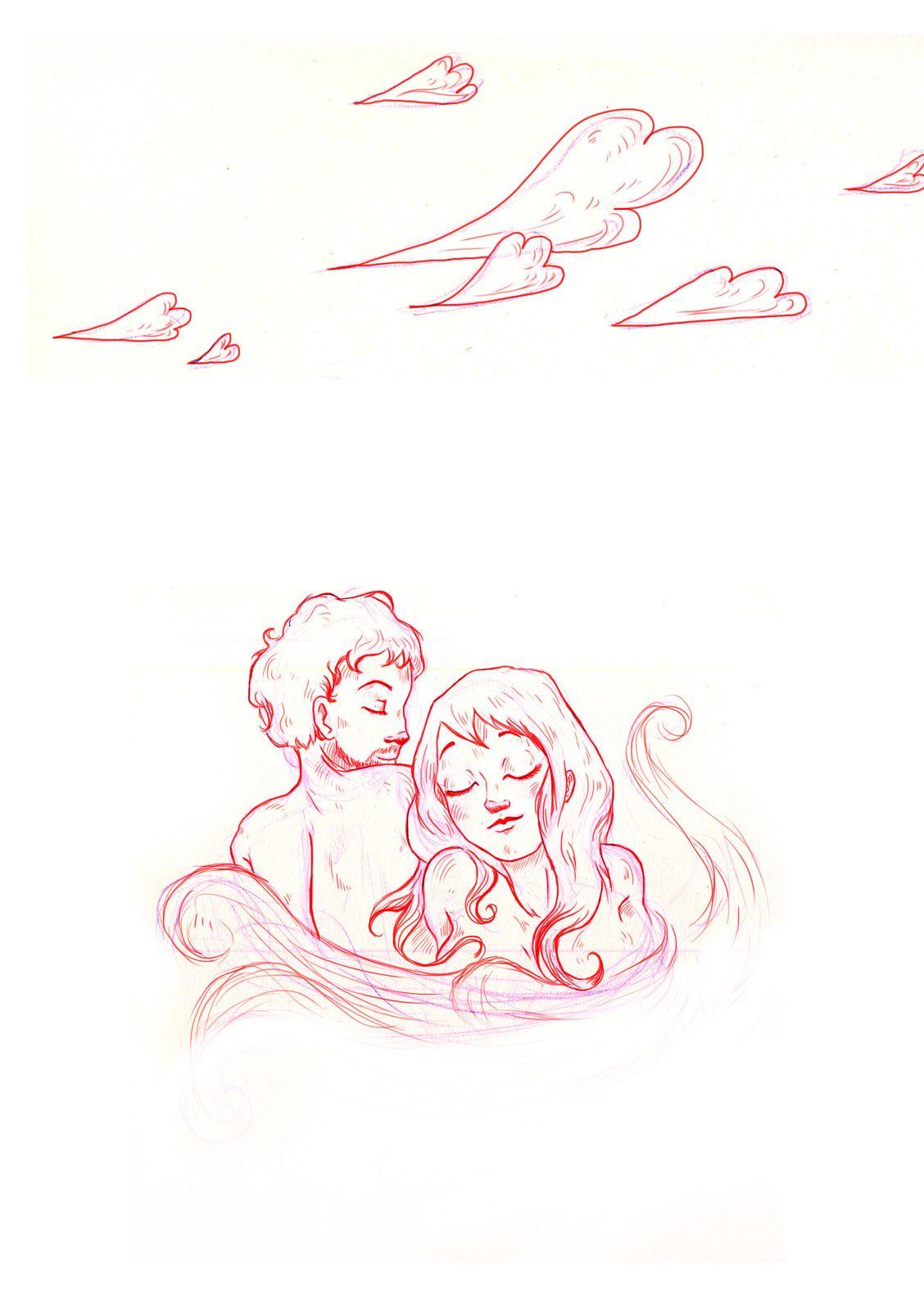 dessin : héloïse, photos : flora, yves et maïette + X...