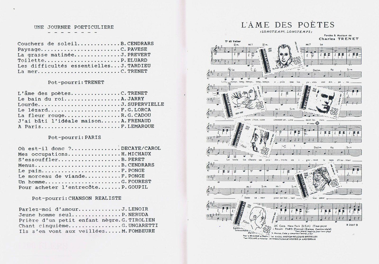 scan : programme 1991