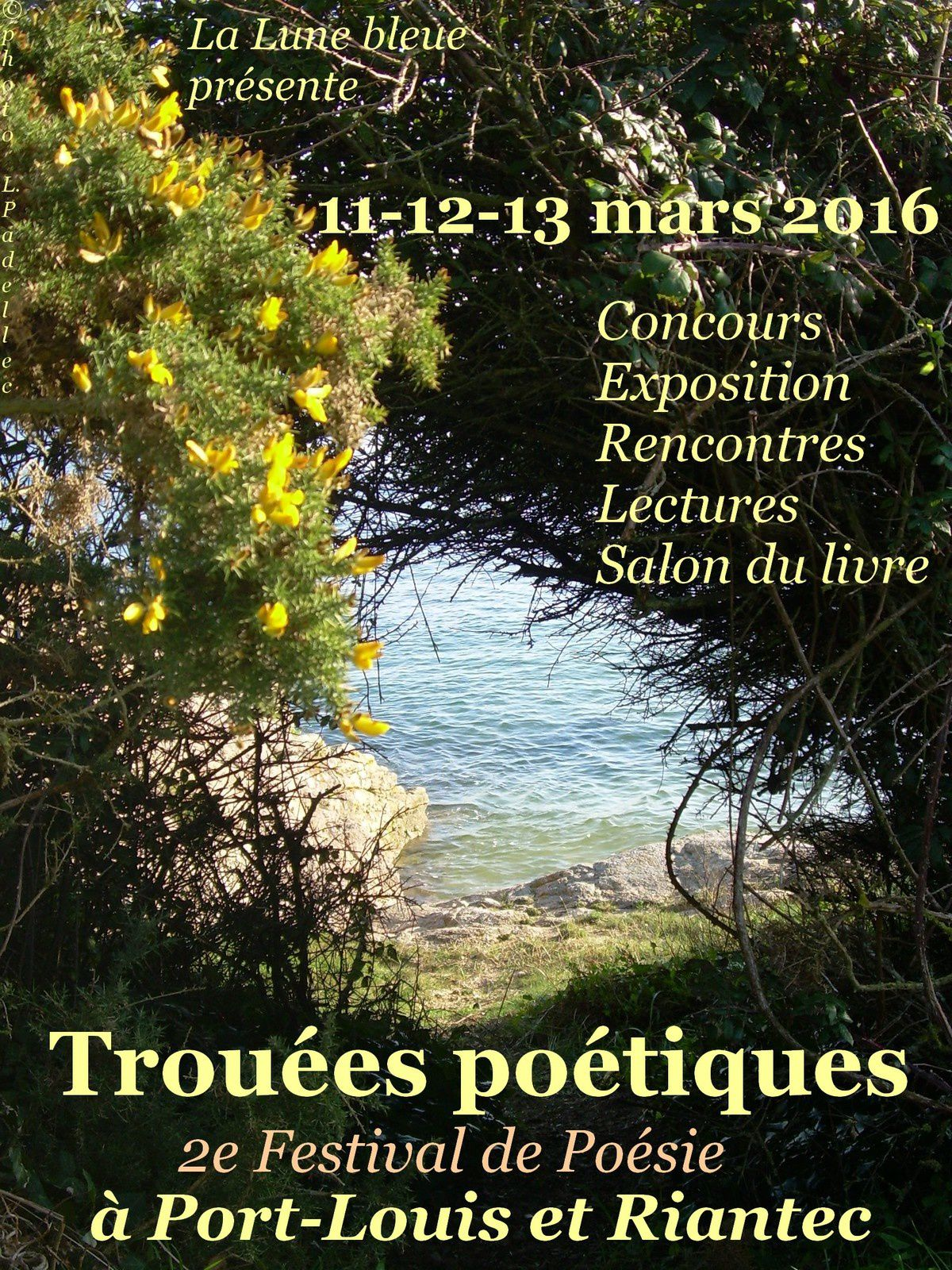 1- affiche 2016 / 2 et 3- marché Port-Louis 2015 (photos L.P. ?)