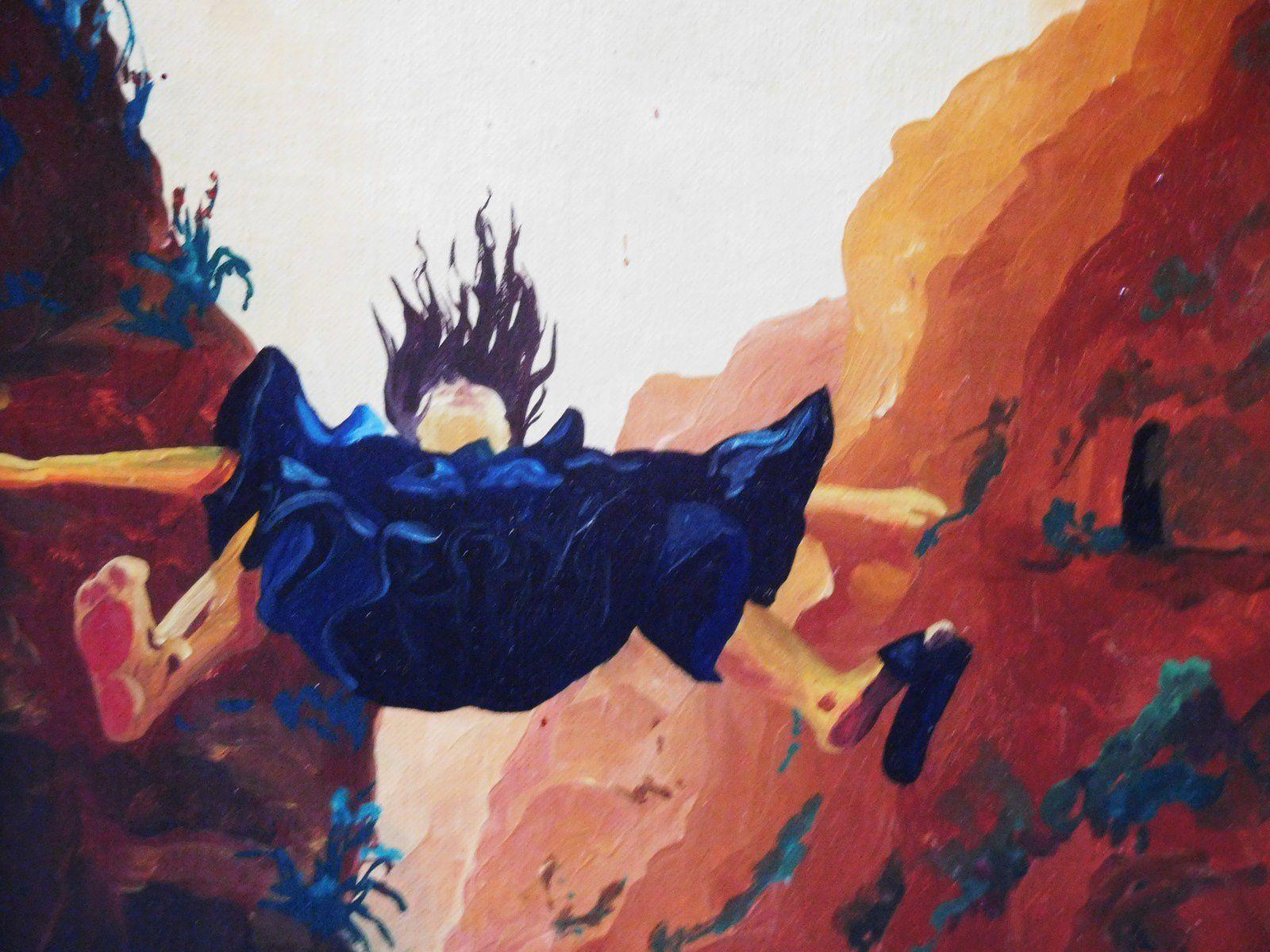 tableau de Bernard Rainero (photos : flora)