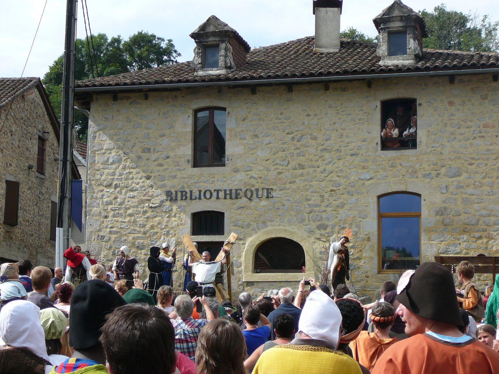 Les  médiévales à La Roquebrou