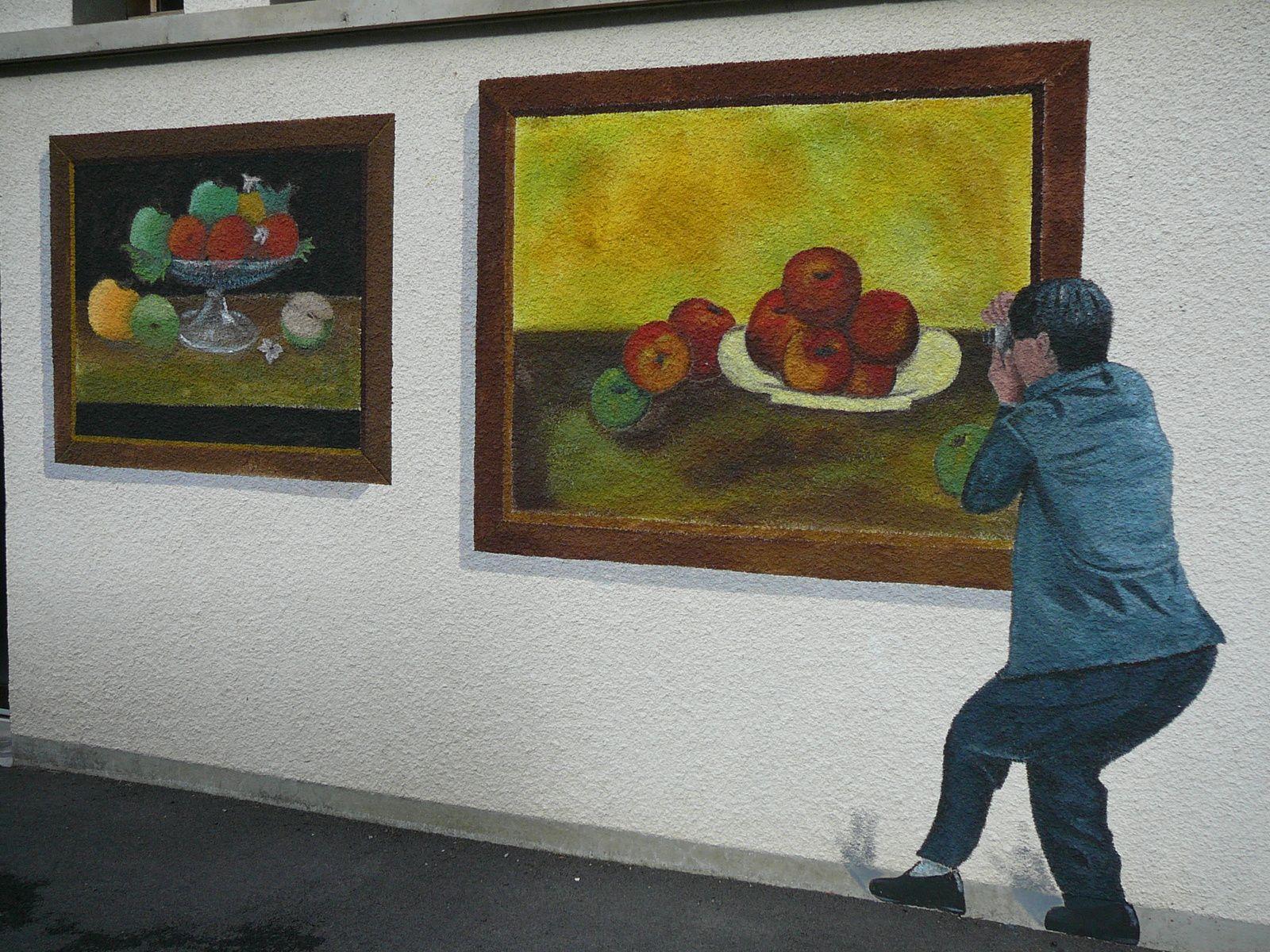 Vitrac, le village peint...