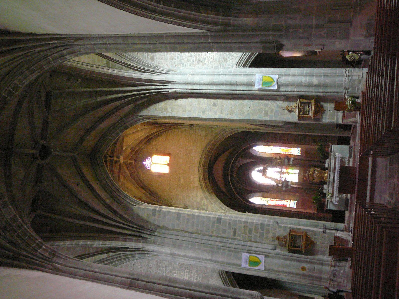 L'abbatiale St Géraud