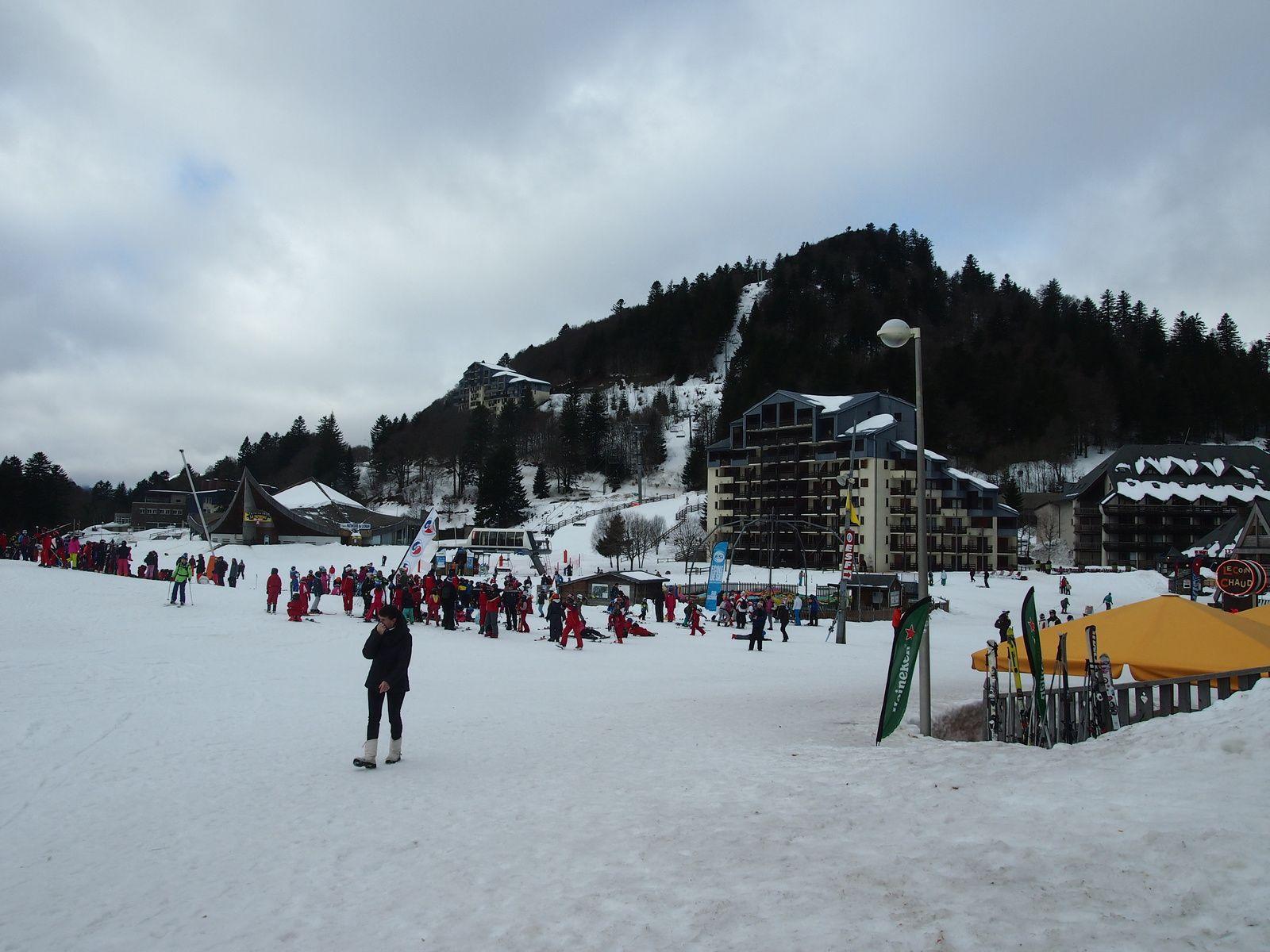 Station de ski  : le Lioran