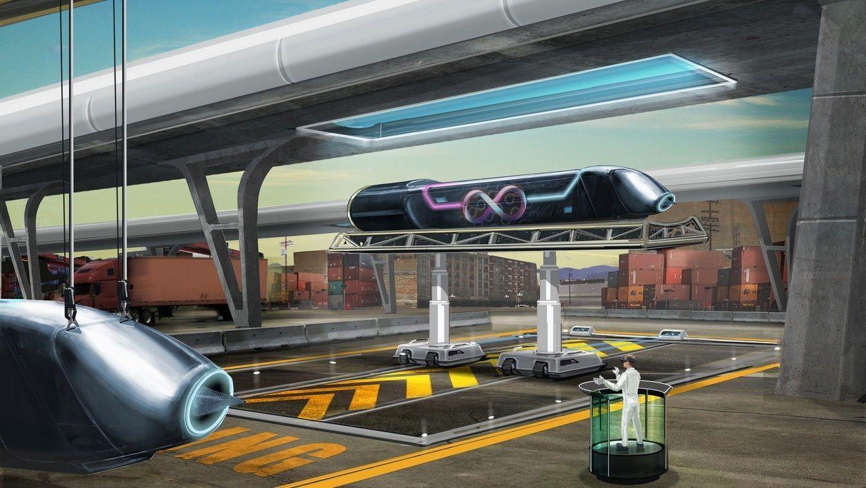 embarquement sur l'Hyperloop