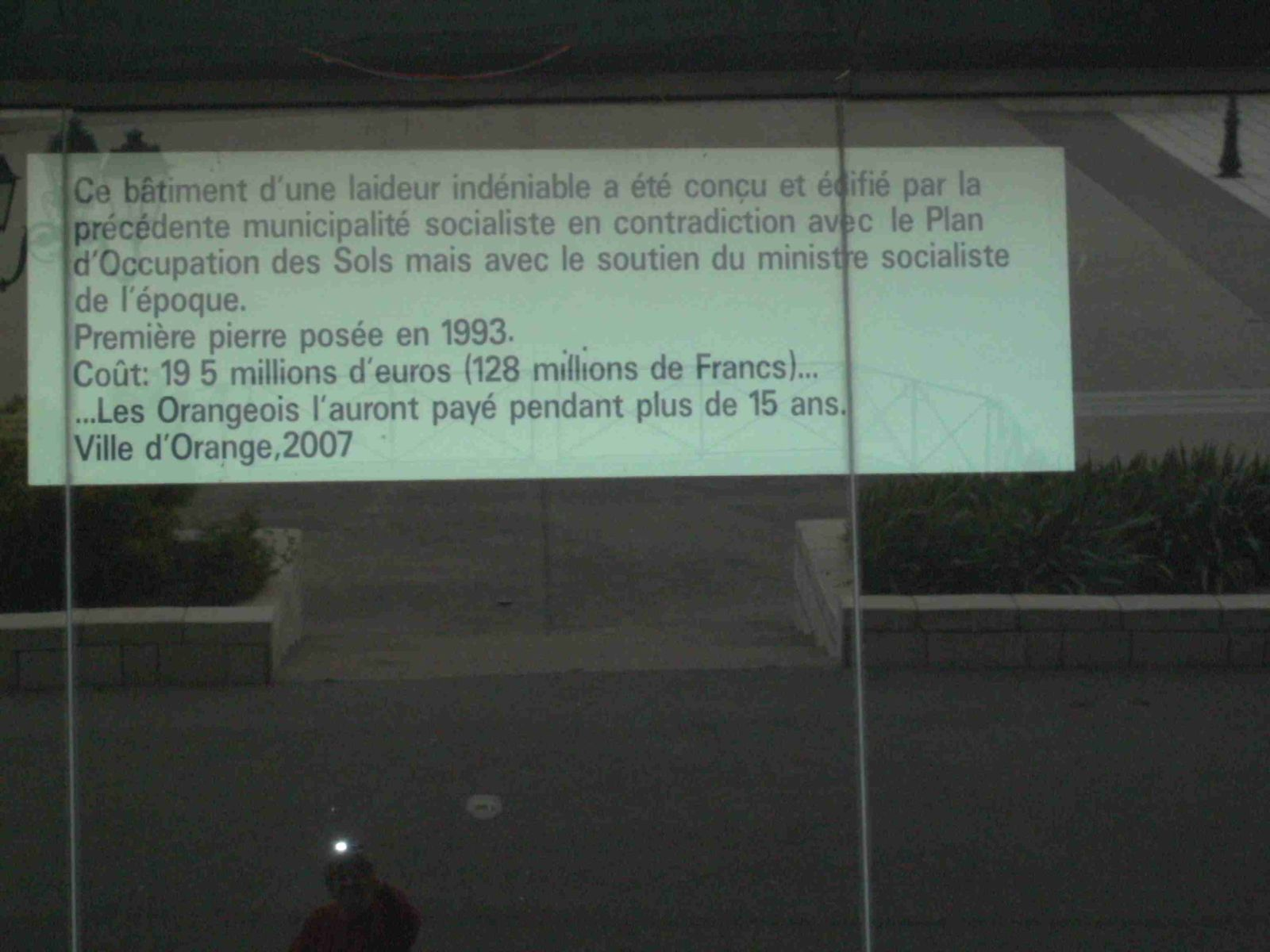 1 Dazibao en question relooké en 2007