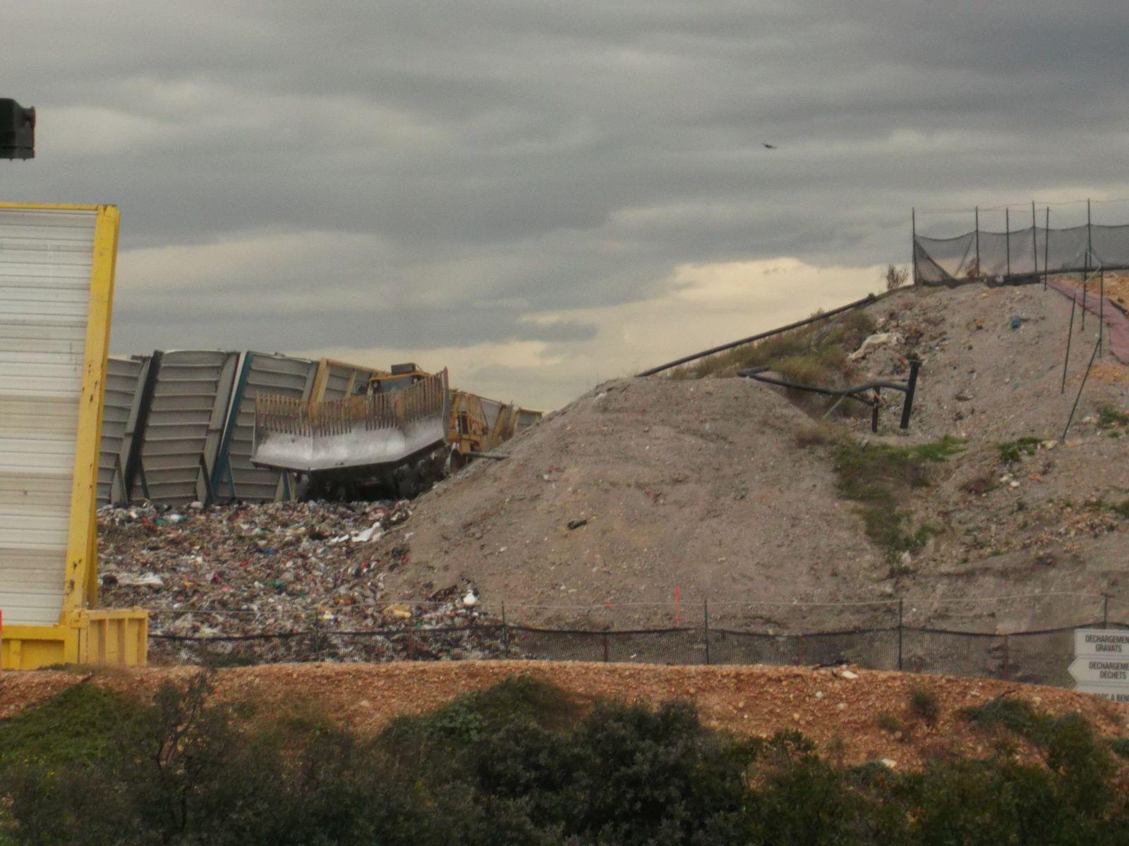 Site Delta déchets, le 27 octobre 2015