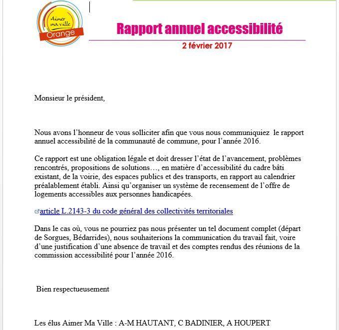 Accessibilité obligation légale: On avance ou ça piétine?