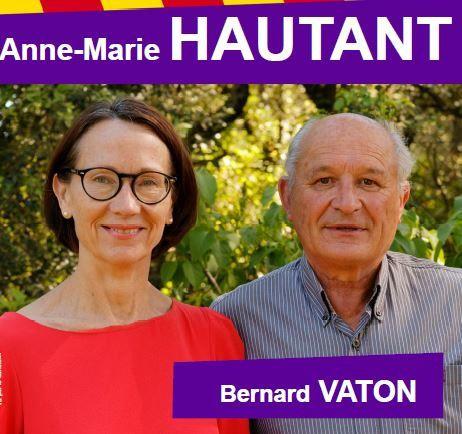 Communiqué de presse d'Anne Marie HAUTANT