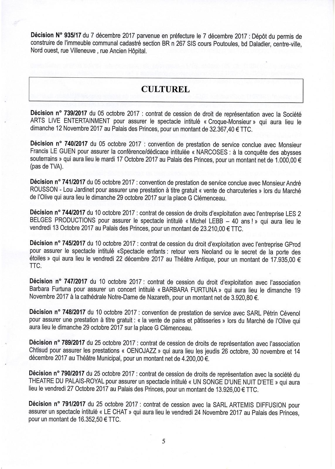 Listing Des Decisions Du Maire Le Blog D Orange Autrement