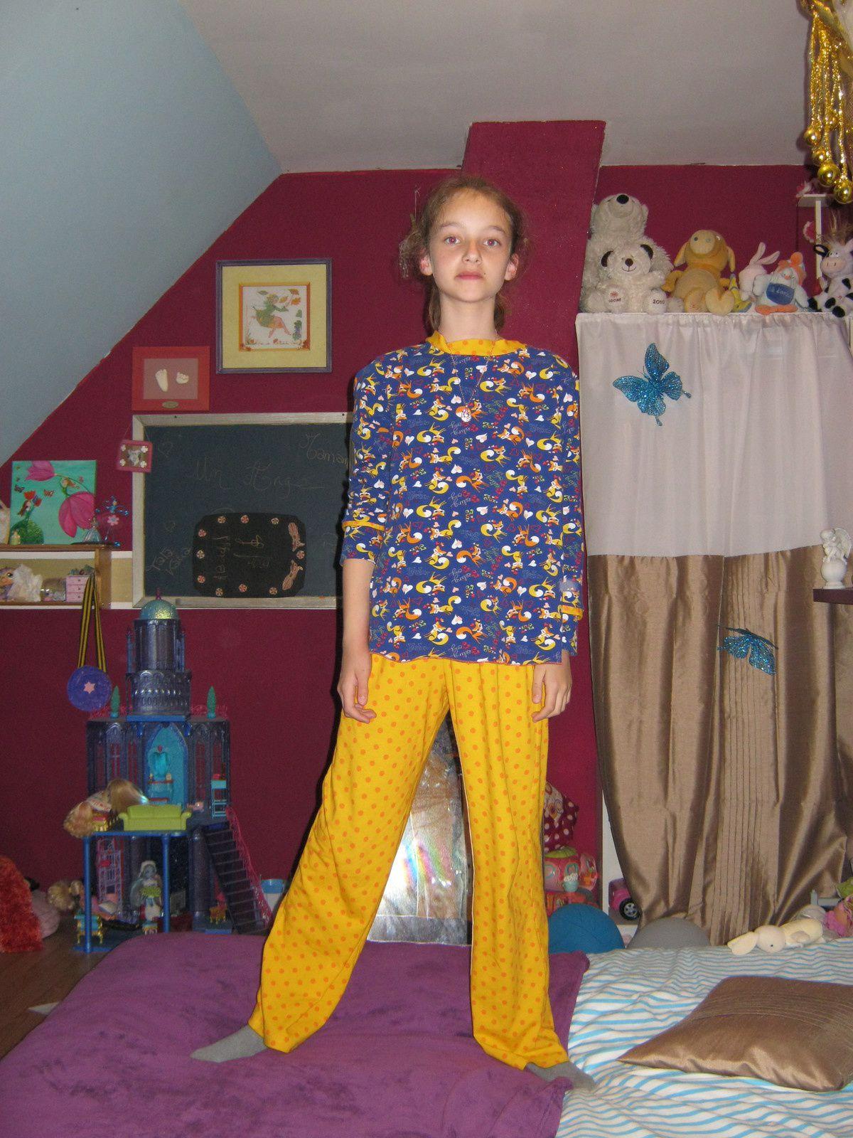 Production de pyjama