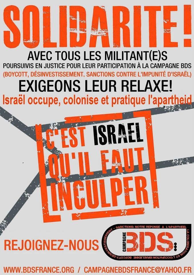 C'est Israël qu'il faut inculper !