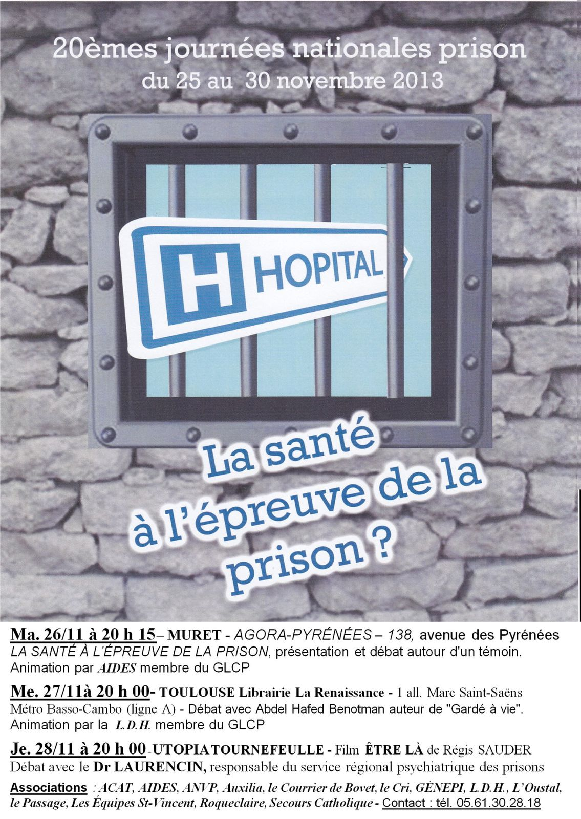 Semaine nationale prison à Toulouse