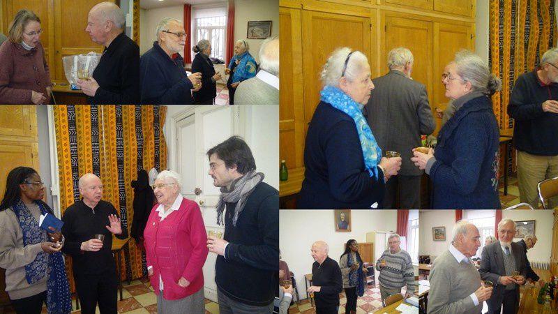 Janvier 2014 :  un verre à la santé de Partenia (13 janvier 1995… Un an de plus !)