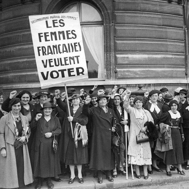 70 ans d'images des Droits des femmes