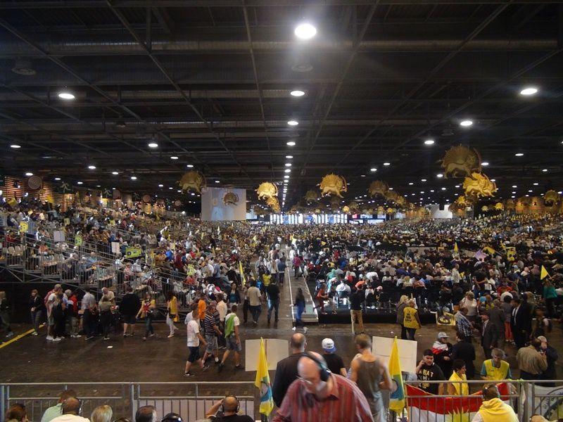 Rassemblement des Iraniens en exil à Villepinte (27 juin 2014)