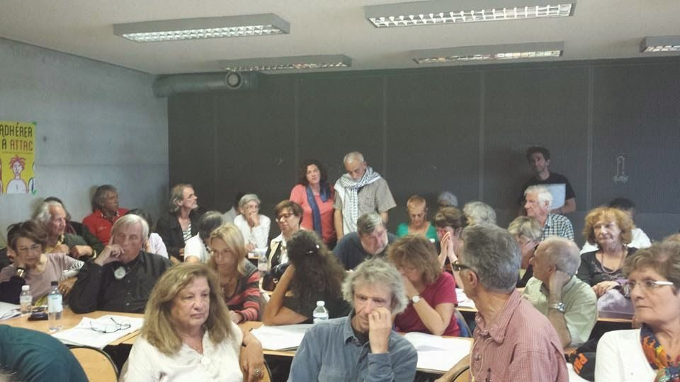 Atelier BDS à l'Université d'Attac