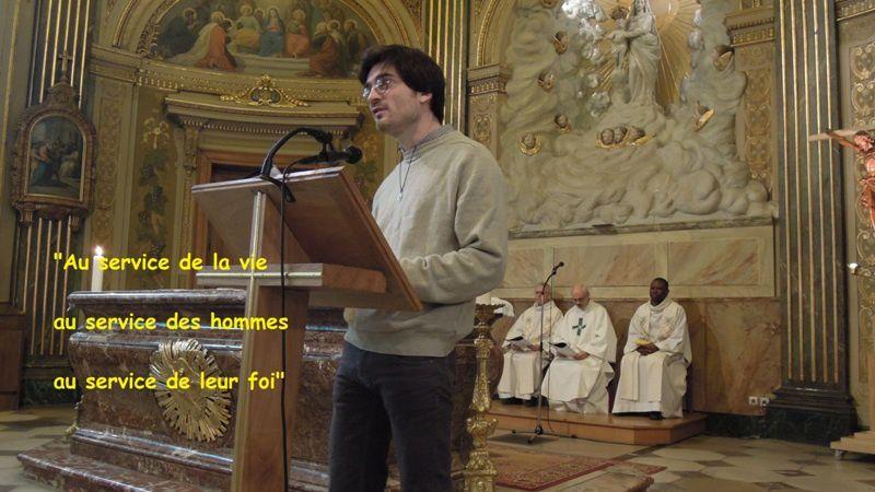 Des nouvelles de Partenia 75 / Ile de France : Benjamin, spiritain !