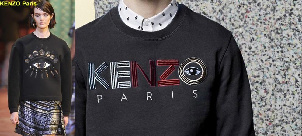 Où trouver les symboles : Kenzo