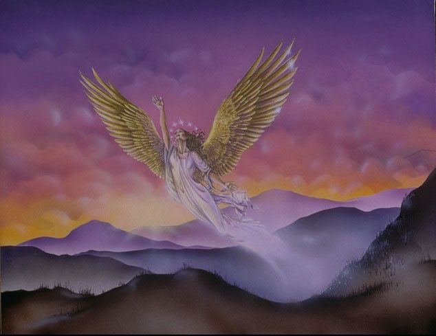 La femme reçoit des ailes pour s'enfuir : Baptisez-les au nom du Père, du Fils et du Saint-Esprit