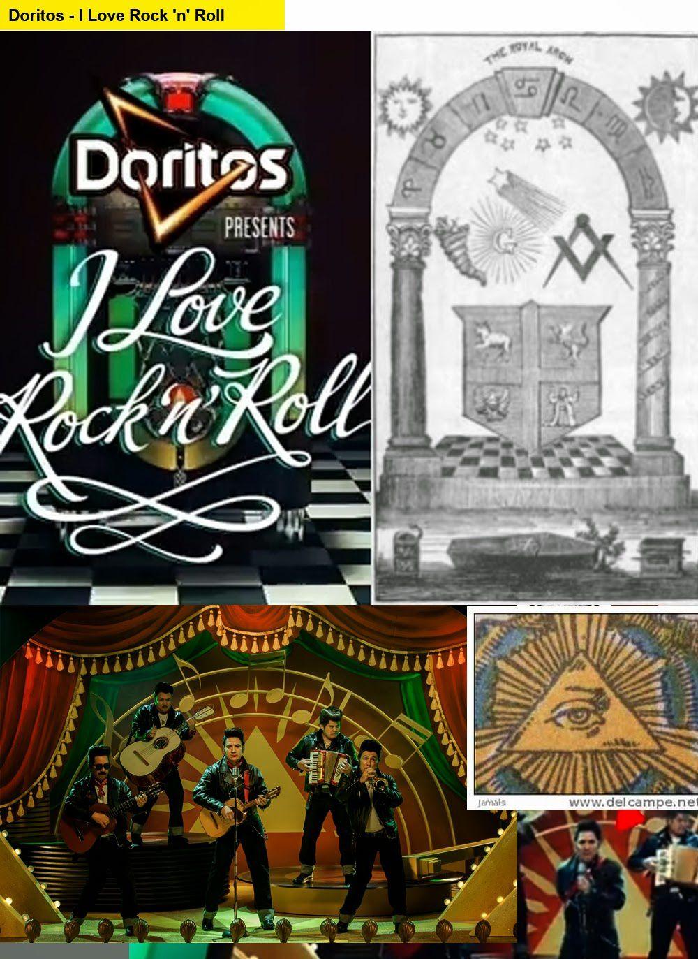 Où trouver les symboles : Doritos