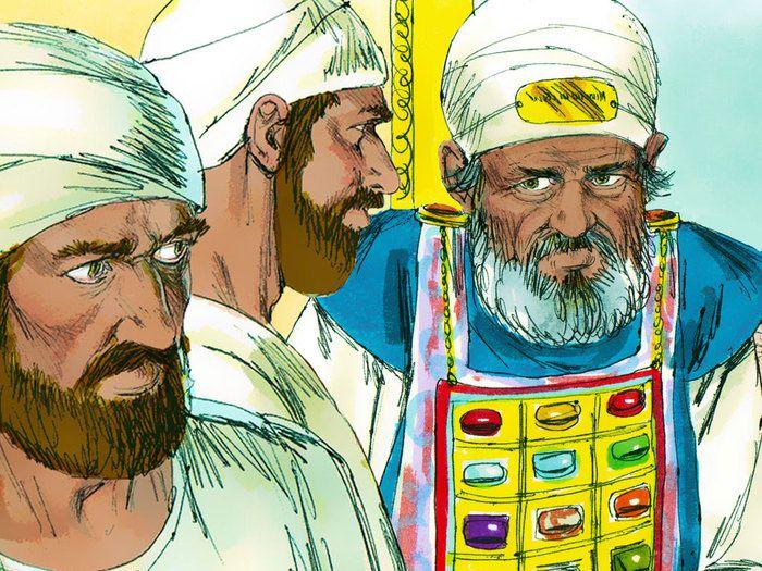 Les fils d'Eli n'ont pas marché sur ses pas, ils faisaient ce qui est mal aux yeux de l'Eternel